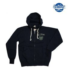 Buzz Rickson Hoodie Navy #fashion #apparel