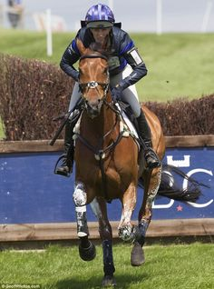 Zara Phillips rode her Olympic hose High Kingdom to fifth at the Barbury Castle Horse Trials this weekend