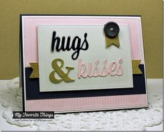 Pinstripe Background, Ampersand Die-namics, Lots of Love Die-namics, Pierced Fishtail Flags STAX Die-namics, Vertical Stitched Strips Die-namics - Jodi Collins #mftstamps