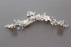 Bespoke for Hannah_ivory and silver bridal headpiece 5 copy