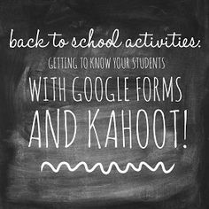 Hi all, It's Shana from Hello, Teacher Lady here. Today I'm going to share with you one of my favorite back to school activities -- i...