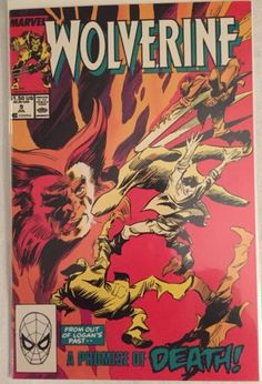 Wolverine #9 - Marvel Comics - Dated 7/1/1989 in Collectibles, Comics, Copper Age (1984-1991), Superhero, Wolverine | eBay