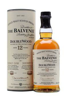 DRINK.CH Online Beverage Delivery Service The Balvenie 12 Years Double Wood Single Malt Whisky 70cl - Whisk(e)y - Spirituosen | Your Personal Beverage Butler