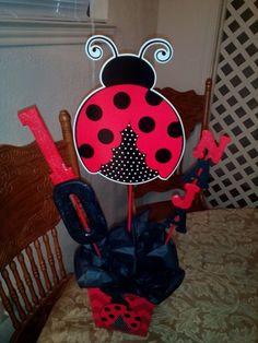 Lady Bug Centerpiece