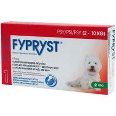 Výsledek obrázku pro Fypryst Dogs 1x0.67ml spot-on pro psy