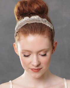 The smallest details can make the biggest impact; just take these elegant accessories. Thoughtfully placed, they'll accent your style's best asset -- be it graceful twists or soft texture -- with ease.    Here, a headband tames frizz and flyaways and adds polish to a topknot. Jenny Packham's couture piece works the ombre trend, with hundreds of bugle beads gradating from silver to champagne.