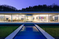 Villa K en Alemania - Villa K deslumbra por su increíble diseño y concepto ecológico.   Galería de fotos 12 de 13   AD MX