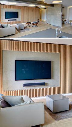 Tv Wall Design Ideas Luxury Beautiful Wood Wall Behind Tv – Roc Munity - . - Tv Wall Design Ideas Luxury Beautiful Wood Wall Behind Tv – Roc Munity – … – Tv Wall - Wooden Wall Design, Tv Wall Design, House Design, Wood Wall, Living Room Tv, Cozy Living Rooms, Tv Wall Panel, Wall Tv, Support Mural Tv