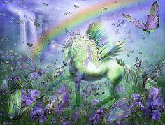 Carol Cavalaris - Unicorn Of The Butterflies