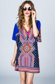b6f8f5fb03f Tigerlily Rabari Dress in Ultraviolet – SOLD