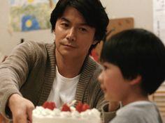 """Une scène du film japonais d'Hirokazu Kore-Eda, """""""" (""""Tel père, tel fils"""" - """"Like Father, Like Son""""), 2013."""