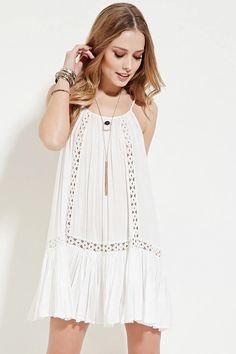 Boho Me Crocheted Cami Dress #f21xmusic