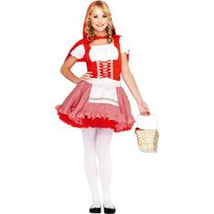 Little Red Riding Hood Costume Teen Halloween Fancy Dress for sale Halloween Costumes For Teens Girls, Halloween Fancy Dress, Costume Halloween, Halloween Ideas, Halloween Party, Fairy Fancy Dress, Fancy Dress Up, Dressy Dresses, Nice Dresses