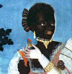 People of Color in European Art History Vincente Albán  A Distinguished Woman and an Enslaved Woman with Various Fruits and Vegetables of Ecuador  Ecuador, Spain (c. 1783)  Oil on Canvas.  Museo de America, Madrid, Spain.