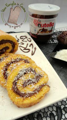 Rotolo Nutella e cocco