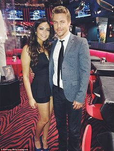 9a1dcd43ba40 Bethany Mota   Janel Parrish show off svelte figures at DWTS rehearsal