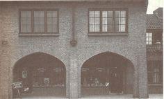 Bogengalerij Bellendonkplein Knutteldorp eind jaren 20 Deventer