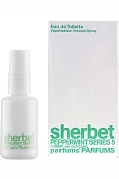 Scent yourself with this eye-opening fragrance that will brighten your day from start to finish.     Comme des Garçons Peppermint Sherbet Eau de Toilette, $42