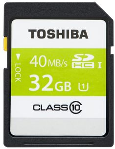32GB SDHC HC-SD High Speed Class 10 Memory Card for Panasonic HDC-HS700 Camcorder