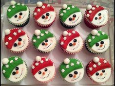 Snow cakes!