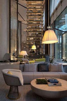 Interior Design Projects Luxury Check Our Selection Of Luxury Hotel Lobby Lighting Designs to – Decorating Ideas W Hotel, Hotel Lounge, Lobby Lounge, Hotel Food, Grand Hotel, Lobby Furniture, Luxury Furniture, Furniture Decor, Modern Furniture