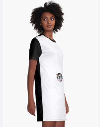 Graphic T-Shirt Dress Good Vibe, Tied T Shirt, Tropical, Photoshop, Romance, Almost Perfect, Chiffon Tops, Cute Girls, Designer Dresses