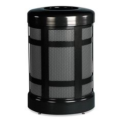 Rubbermaid A38TABZ Commercial Architek Galvanized Steel Outdoor Receptacle #A38TABZ #Rubbermaid #WasteReceptacles  https://www.officecrave.com/rubbermaid-a38tabz.html