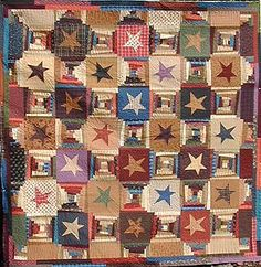 Courthouse Stars - Buggy Barn Quilts