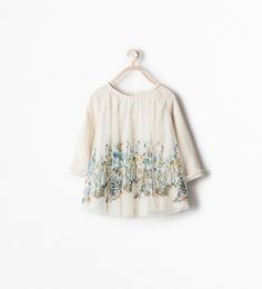 PRINTED TULLE DRESS from Zara Baby Girls
