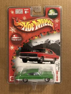 Hot Wheels Holiday Rods 67 Dodge Charger Green/White NEW | Toys & Hobbies, Diecast & Toy Vehicles, Cars, Trucks & Vans | eBay!