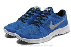 Royal Blue Black Silver Nike Flex Experience Run 525762-401 Mens