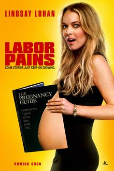 Labor Pains.  A young woman pretends to be pregnant in order to avoid being fired from her job. When that gets her special treatment by everyone involved in her life, she tries to keep up the lie for nine months.