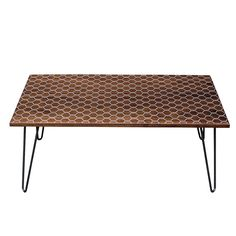 Infill Hexacomb Table, $695, by Dave Marcoullier