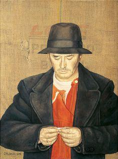 Jopie Huisman -Man met hoed