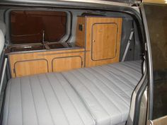 Convert Your Van Ltd - People Carrier Camper Conversion and Furniture Kits