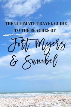 Before arriving at the Beaches of Fort Myers & Sanibel, I expected that I would have a lovely beach trip, get a little tan, and enjoy the warm salty ocean Beach Vacation Tips, Florida Vacation, Florida Travel, Florida Beaches, Beach Trip, Sanibel Florida, Florida Trips, Vacation Places, Sandy Beaches