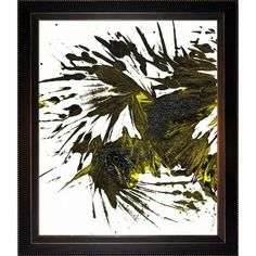Imprints Of Nature Series 1751MP3 with Veine D'Or Bronze Angled Frame 20'X24', Brown