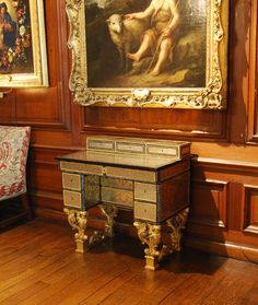 Bureau attributed to Pierre Gole, c.1670 Boughton House After Conservation by Yannick Chastang his quote below