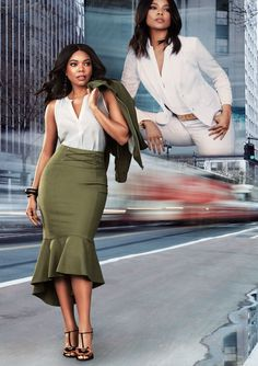 """Gabrielle Union Shows Us How to Match Her """"Electric Fly"""""""