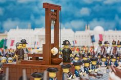 """""""History is full of violence, and I like that violence done in LEGO walks a fine line between disturbing, funny, and poignant,"""" says Smith  Brendan Powell Smith, LEGO, , Revolution!: The Brick Chronicle of the American Revolution and the Inspiring Fight for Liberty and Equality that Shook the World"""