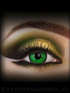 Green Hornet Crazy lenses