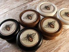 Queen Bee Decorative Knobs Pulls Handles...Price is for 1 | Etsy Cupboard Door Knobs, Kitchen Cupboard Doors, Kitchen Cabinets In Bathroom, Drawer Knobs, Drawer Pulls, Cabinet Knobs, Brass Kitchen Handles, Old Drawers, Decorative Knobs