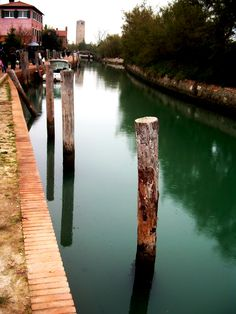 Torcello, Veneto, Italy, province of Venezia by Maja Meza Beautiful Islands, Beautiful World, Ancient Ruins, Landscapes, Places To Visit, Environment, Journey, Europe, The Incredibles