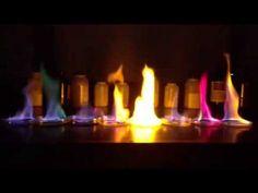 Fireworks Flame Test