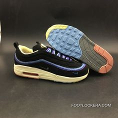 more photos c497a 5d6fe Women Sean Wotherspoon Nike Air Max 97 Hybrid SKU 173323-262 Discount