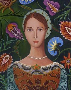 Young Leanora-New Painting, painting by artist Catherine Nolin