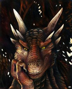 задумчивый дракон