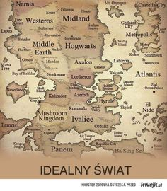 perfect world my only problem with maps like this is that Hogwarts is a school, not a country. If anything, it should be Hogsmeade, with Hogwarts inside of it.