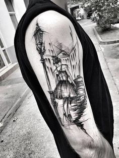 Polish Artist Shows Just How Awesome Sketch Tattoos Can Be - UltraLinx