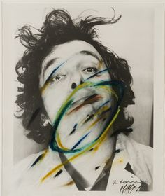 Artist page for Arnulf Rainer (born Artistic Photography, Fine Art Photography, Portrait Photography, Vintage Photography, Painting On Photographs, Arnulf Rainer, Research Images, A Level Art, Foto Art